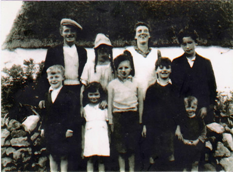 Ballaghduff villagers circa 1940
