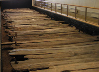 Corlea Trackway, recovered portion