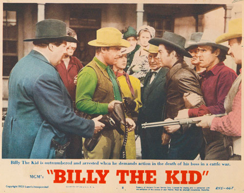 """""""Billy The Kid"""" MGM 1955"""