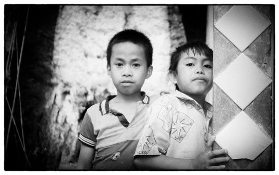 Two boys: South Sulawesi, Indonesia, 1997