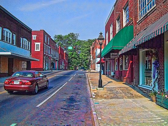 Main Street, Rogersville, Tennessee