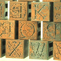 Cloister Initials by Fred W Goudy