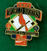 world series pin