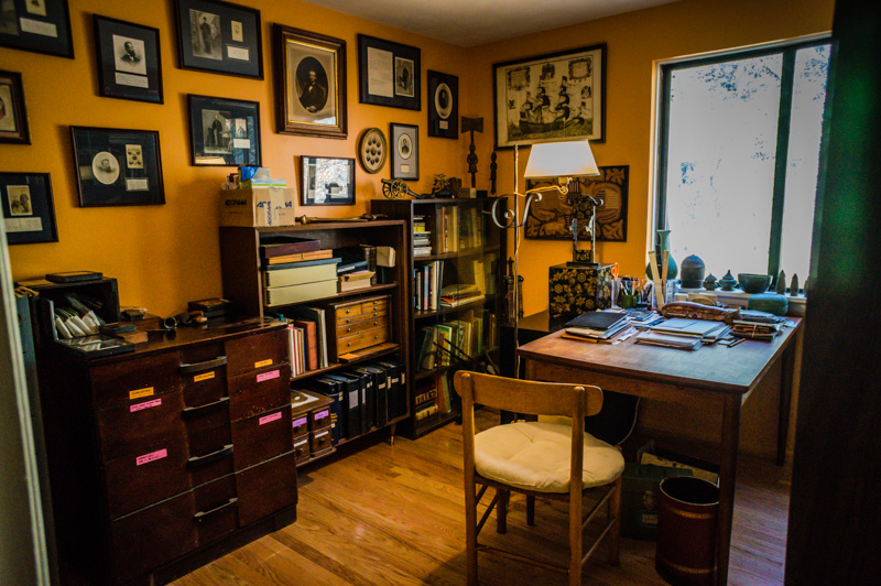 Jim's study BEFORE