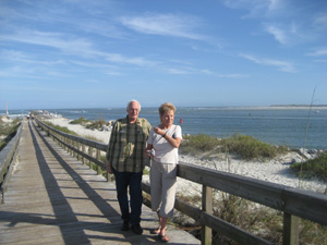 Ponce Inlet Park, Jim and Pat