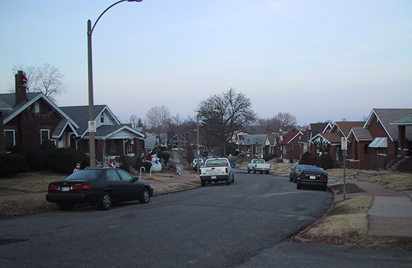 St Louis, Missouri, Juniata Street, Dec 2005