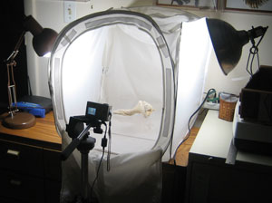 soft box set up